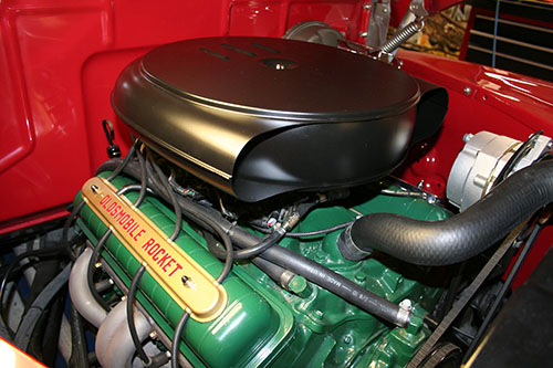 Olds air cleaner